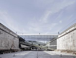 Narodowe Muzeum Morskie w Helsingør projektu Bjarke Ingels Group (BIG)