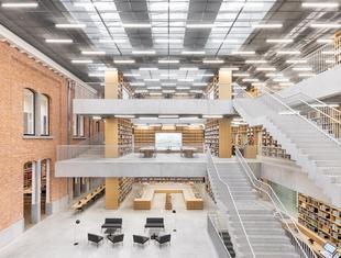 Architektoniczna utopia? Biblioteka i Akademia Sztuk Performatywnych w Aalst